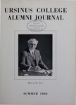 Ursinus College Alumni Journal, Summer 1938