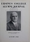 Ursinus College Alumni Journal, Autumn 1938 by Donald L. Helfferich, Calvin D. Yost, Stanley Omwake, and Norman E. McClure