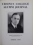 Ursinus College Alumni Journal, Spring 1939