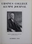 Ursinus College Alumni Journal, Summer 1939