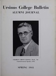 Ursinus College Alumni Journal, Spring 1941