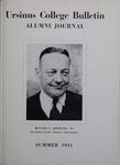Ursinus College Alumni Journal, Summer 1941 by Donald L. Helfferich, Calvin D. Yost, Stanley Omwake, and Norman E. McClure
