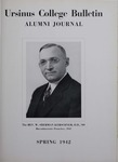 Ursinus College Alumni Journal, Spring 1942 by Donald L. Helfferich, Charles H. Miller, Stanley Omwake, and Norman E. McClure