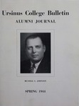 Ursinus College Alumni Journal, Spring 1944 by Dorothy Thomas Shelley, Donald L. Helfferich, Alfred C. Alspach, Franklin Irvin Sheeder Jr., Miriam Barnet Smith, and Norman E. McClure