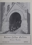 Ursinus College Alumni Journal, March 1953