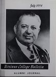 Ursinus College Alumni Journal, July 1954