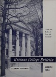 Ursinus College Alumni Journal, March 1954