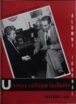 Ursinus College Alumni Journal, November 1954