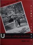 Ursinus College Alumni Journal, March 1956