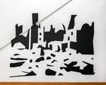 Sharp Objects Wall Installation by Kelsey Gavin