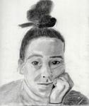 Self Portrait 1 by Abigail Krasutsky