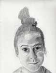 Self Portrait 3 by Abigail Krasutsky