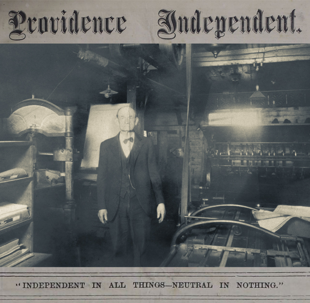 Providence Independent Newspaper, 1875-1893