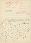 Letter from Wolfram Sievers to Walther Wüst, May 27, 1938 by Wolfram Sievers