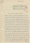 Letter from Heinrich Harmjanz to Wolfram Sievers, February 10, 1944