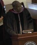 Charles Rice Speaking at Ursinus College Academic Convocation 2014 by College Communications
