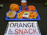 Orange is the New Snack
