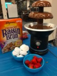 The Chocolate Fountainhead by Raisin Bran