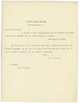 Letter From Francis Mairs Huntington-Wilson and Others to William McKinley, March 1897