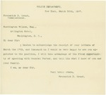 Letter From Frederick D. Grant to Francis Mairs Huntington-Wilson, March 20, 1897