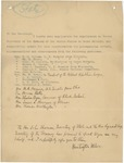 Letter From Francis Mairs Huntington-Wilson to William McKinley, March 1897