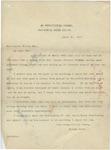 Letter From Elisha Dyer to Francis Mairs Huntington-Wilson, April 2, 1897 by Elisha Dyer