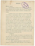 Memorandum From Alvey A. Adee to Francis Mairs Huntington-Wilson, April 13, 1909 by Alvey A. Adee