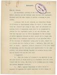 Memorandum From Alvey A. Adee to Francis Mairs Huntington-Wilson, April 13, 1909