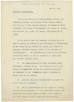 Memorandum on a Speech by the Secretary of State, May 21, 1910