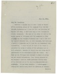Letter From Francis Mairs Huntington-Wilson to Philander C. Knox, July 16, 1910