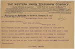 Telegram From Philander C. Knox to Francis Mairs Huntington-Wilson, July 4, 1910