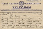 Telegram From Francis Mairs Huntington-Wilson to Philander C. Knox, March 8, 1911 by Francis Mairs Huntington-Wilson