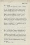 Memorandum From Francis Mairs Huntington-Wilson to Philander C. Knox, November 20, 1911