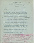 Memorandum From Francis Mairs Huntington-Wilson to Alvey A. Adee, November 16, 1909