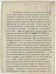 Notes on the Appropriation Bill of 1912, May 13, 1912