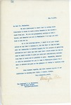 Letter From Francis Mairs Huntington-Wilson to James Houston Eccleston, May 11, 1909
