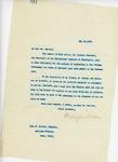 Letter From Francis Mairs Huntington-Wilson to John W. Garrett, May 28, 1909
