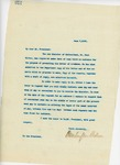 Letter From Francis Mairs Huntington-Wilson to William Howard Taft, June 7, 1909