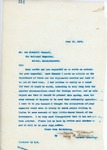 Letter From Francis Mairs Huntington-Wilson to Joe Mitchell Chappel, June 19, 1909