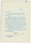 Letter From Francis Mairs Huntington-Wilson to Whitelaw Reid, June 22, 1909