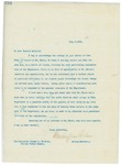 Letter From Francis Mairs Huntington-Wilson to Joseph L. Bristow, July 5, 1909