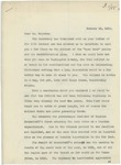 Letter From Francis Mairs Huntington-Wilson to Elbert F. Baldwin, January 19, 1910