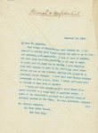 Letter From Francis Mairs Huntington-Wilson to Charles Johnston, February 10, 1910