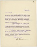 Letter From Charles F. Wilson to Francis Mairs Huntington-Wilson, July 29, 1910