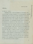 Letter From Francis Mairs Huntington-Wilson to William Hoster, June 24, 1911