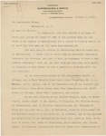 Letter From Thomas Worthington to Francis Mairs Huntington-Wilson, October 6, 1911 by Francis Mairs Huntington-Wilson