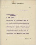 Letter From Samuel Reading Bertron to Francis Mairs Huntington-Wilson, January 31, 1913 by Samuel Reading Bertron