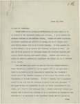 Letter From Francis Mairs Huntington-Wilson to William Jennings Bryan, March 16, 1913