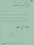 Telegram From Francis Mairs Huntington-Wilson to William Jennings Bryan, March 19, 1913 by Francis Mairs Huntington-Wilson