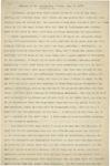 Address of Mr. Huntington Wilson, July 3, 1909